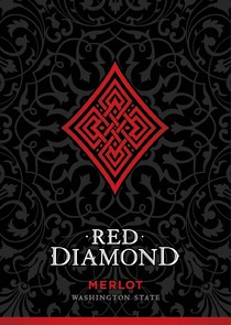 Red Diamond Merlot Label