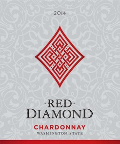 Red Diamond Chardonnay Label
