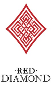 Red DiamondBlack Logo Diamond