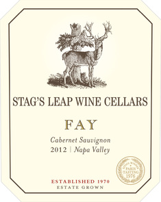 Stag's Leap Wine Cellars Estate FAY 2012