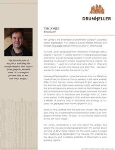 Drumheller Winemaker Tim Jones