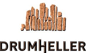 Drumheller Logo - Full Lockup