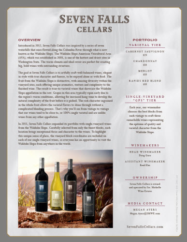 Seven Falls Cellars Overview