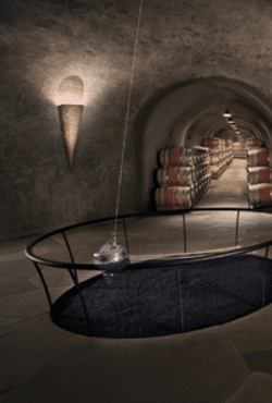 Stag's Leap Wine Cellars - Cave with Pendulum