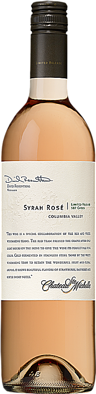 Chateau Ste. Michelle 2012 Limited Release Syrah Rosé Columbia Valley