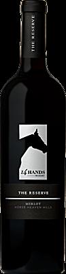 14 Hands Winery The Reserve Merlot Bottle