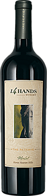 14 Hands 2014 The Reserve Merlot Horse Heaven Hills