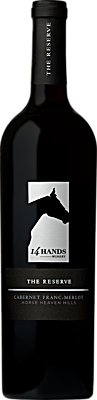 14 Hands Winery The Reserve Cabernet Franc-Merlot Bottle