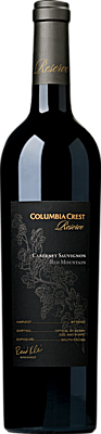 Columbia Crest Reserve Cabernet Sauvignon Red Mountain Bottle