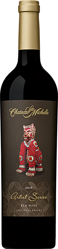 Chateau Ste. Michelle 2016 Artist Series Red Wine - Lion Label Columbia Valley