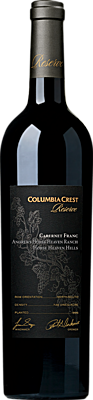 Columbia Crest 2016 Reserve Andrews Horse Heaven Ranch Vineyard Cabernet Franc Horse Heaven Hills Horse Heaven Hills