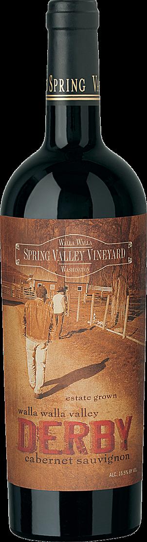 Spring Valley Wine Bottle