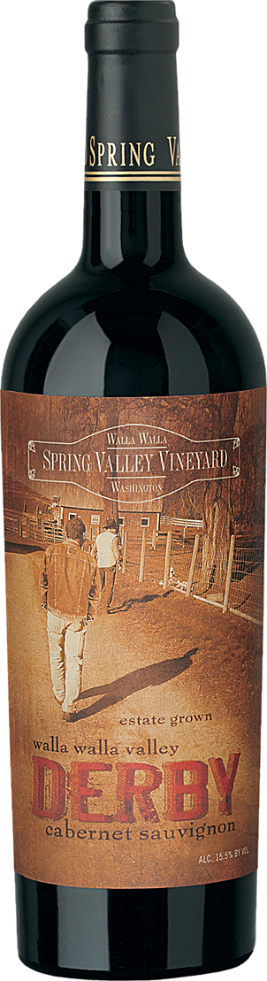 Spring Valley Wine Bottle