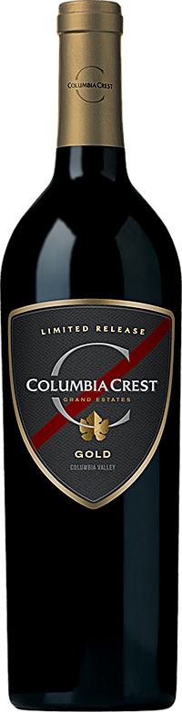Columbia Crest Grand Estates Limited Release Gold Red Wine Columbia Valley Alternative Bottle Shot