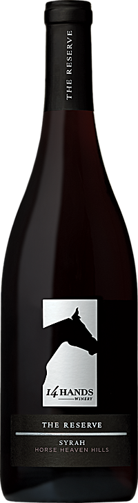 14 Hands Winery The Reserve Syrah Bottle