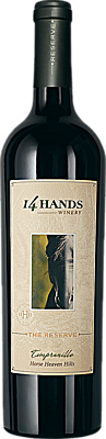 14 Hands 2015 The Reserve Tempranillo Horse Heaven Hills