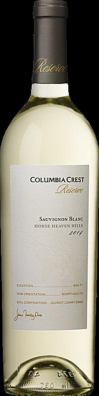 Columbia Crest 2014 Reserve Sauvignon Blanc Horse Heaven Hills Horse Heaven Hills