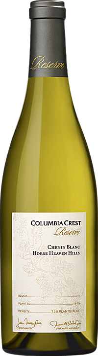 Columbia Crest Reserve Chenin Blanc Horse Heaven Hills Alternative Bottle Shot