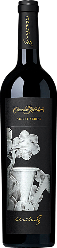 Chateau Ste. Michelle Red Wine Bottle