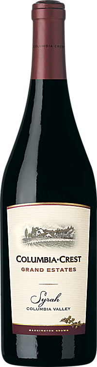 Columbia Crest 2009 Grand Estates Syrah Columbia Valley