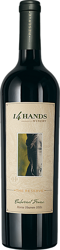 14 Hands Winery The Reserve Cabernet Franc Bottle
