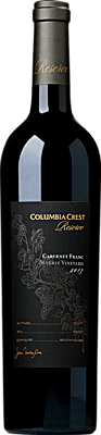Columbia Crest Reserve Cabernet Franc Beverly Vineyard Bottle