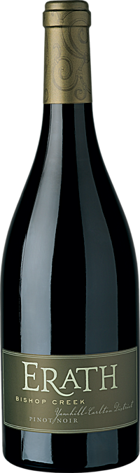 Erath Bishop Creek Pinot Noir Yamhill-Carlton District