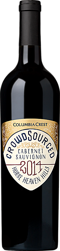 Columbia Crest Crowdsourced Cabernet Horse Heaven Hills Alternative Bottle Shot