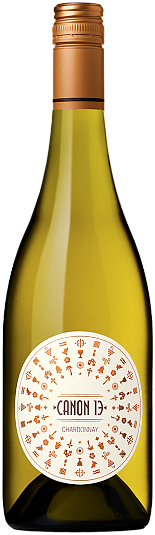 Canon 13 Chardonnay Bottle