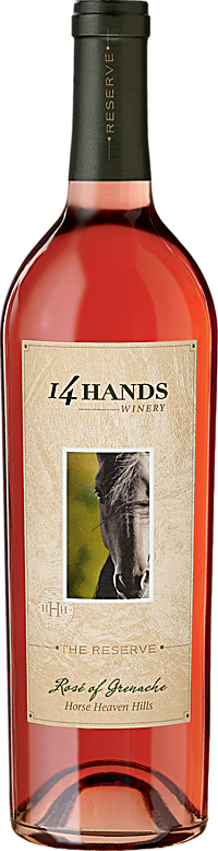 14 Hands Winery The Reserve Rosé of Grenache Bottle