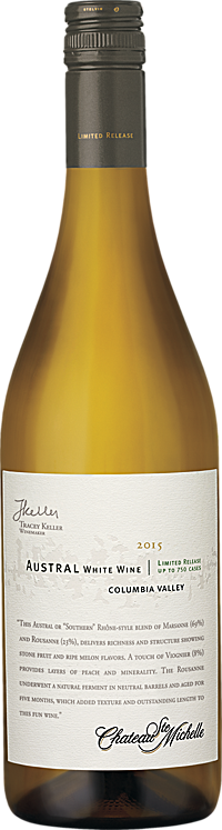 Chateau Ste. Michelle 2015 Limited Release Austral White Wine Columbia Valley