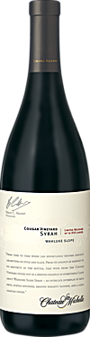 Chateau Ste. Michelle 2013 Limited Release Cougar Vineyard Syrah Wahluke Slope