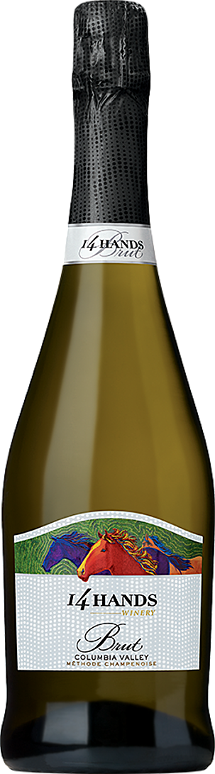 14 Hands Winery Brut Bottle