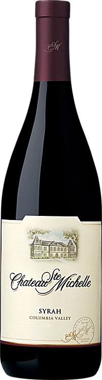 Chateau Ste. Michelle 2008 Syrah Columbia Valley