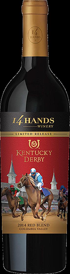 14 Hands Winery Kentucky Derby Red Blend Bottle