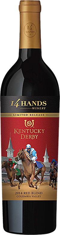 14 Hands Winery Kentucky Derby Red Blend Bottle