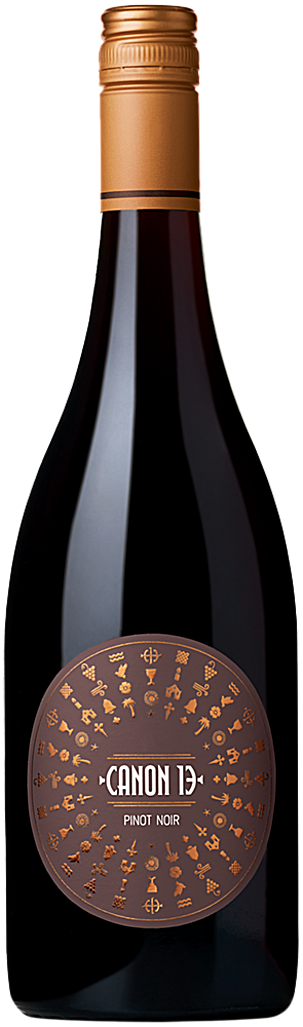 Canon 13 Pinot Noir Bottle