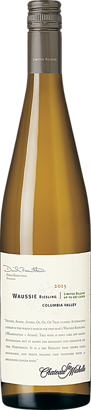 Chateau Ste. Michelle 2015 Limited Release Waussie Riesling Columbia Valley