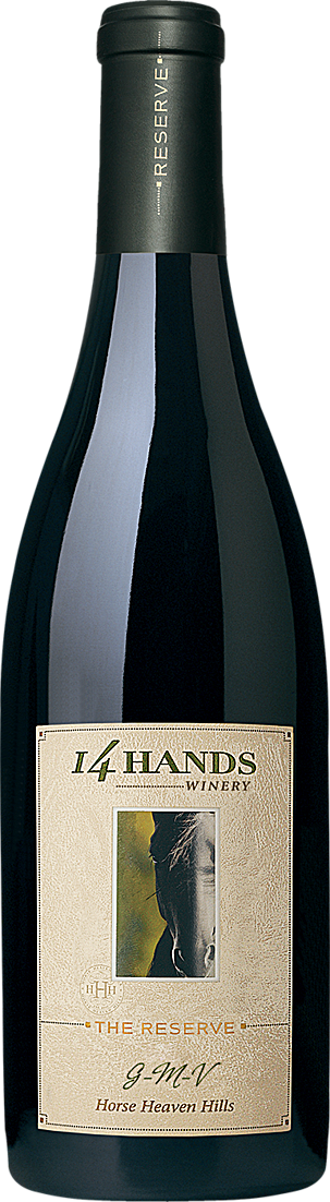 14 Hands Winery The Reserve GMV Red Blend Bottle