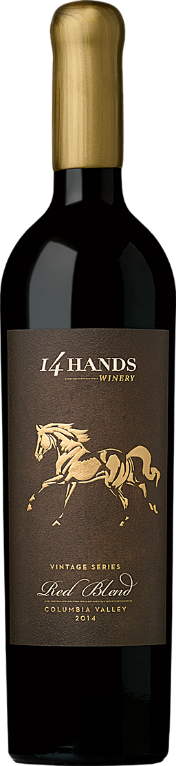 14 Hands Winery Vintage Series Red Blend Bottle