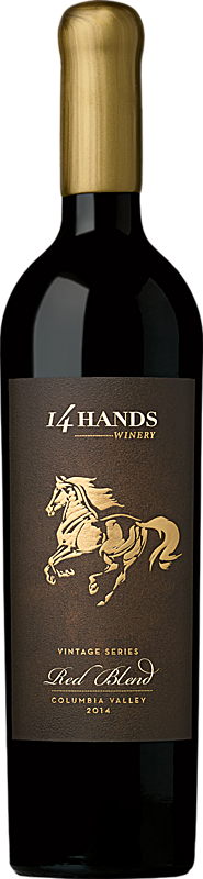 14 Hands Winery Vintage Series Red Blend Bottle
