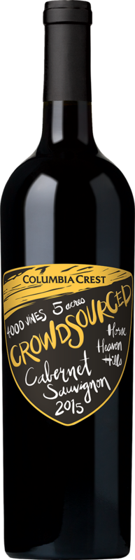 Columbia Crest 2015 Crowdsourced™ Cabernet Horse Heaven Hills Alternative Bottle Shot