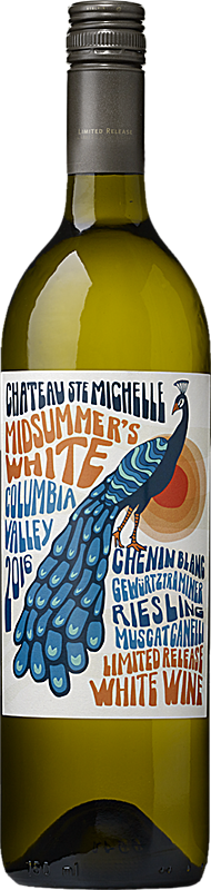 Chateau Ste. Michelle 2016 Limited Release Midsummer's White Columbia Valley