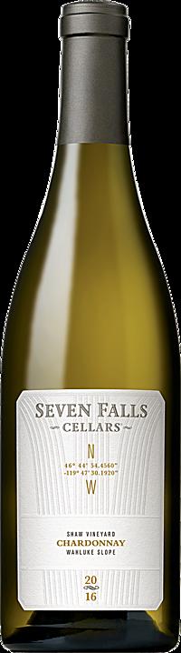 Seven Falls Cellars 2016 GPS Chardonnay, Shaw Vineyard Wahluke Slope