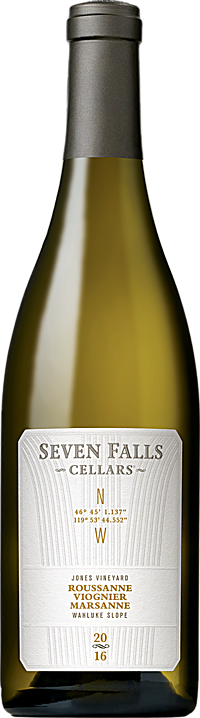 Seven Falls Cellars 2016 GPS White Wine Blend, Jones Vineyard Wahluke Slope