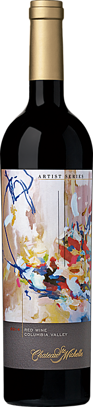 Chateau Ste. Michelle 2014 Artist Series Red Wine - Ending Seasons Label Columbia Valley