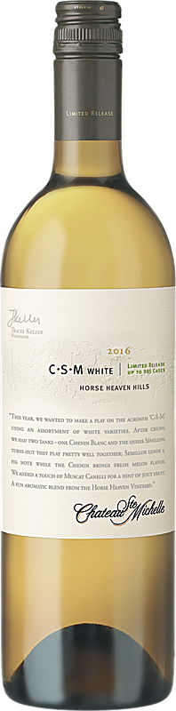 Chateau Ste. Michelle 2016 Limited Release C-S-M White Wine Horse Heaven Hills