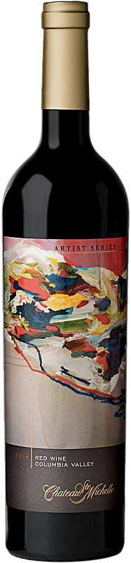 Chateau Ste. Michelle 2014 Artist Series Red Wine - The Sound Label Columbia Valley