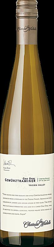 Chateau Ste. Michelle 2016 Limited Release Oak Oval Gewürztraminer Yakima Valley