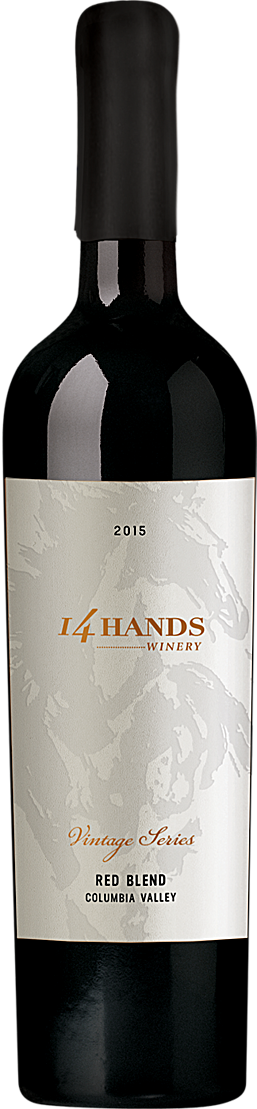 14 Hands 2015 Vintage Series Red Wine Blend Label 1 Columbia Valley